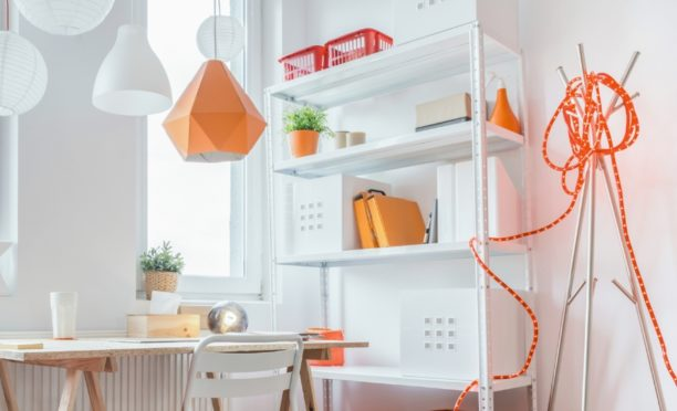 Beautiful Indoor Shelving for a Clutter-Free Look
