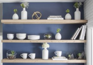 8 Pretty Ways to Style Open Shelving